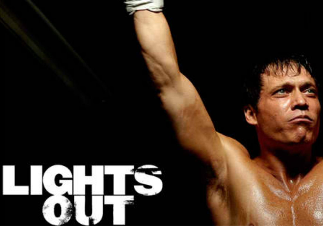 A White Collar Boxing event