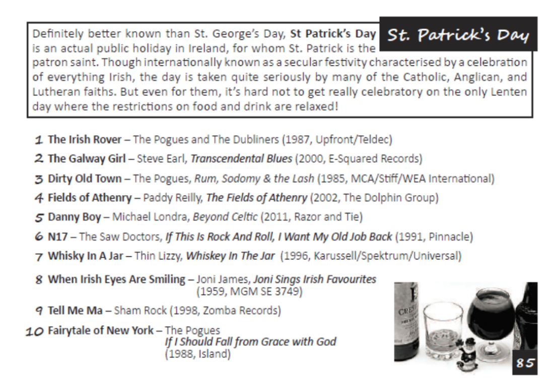 London DJ St Patricks Day