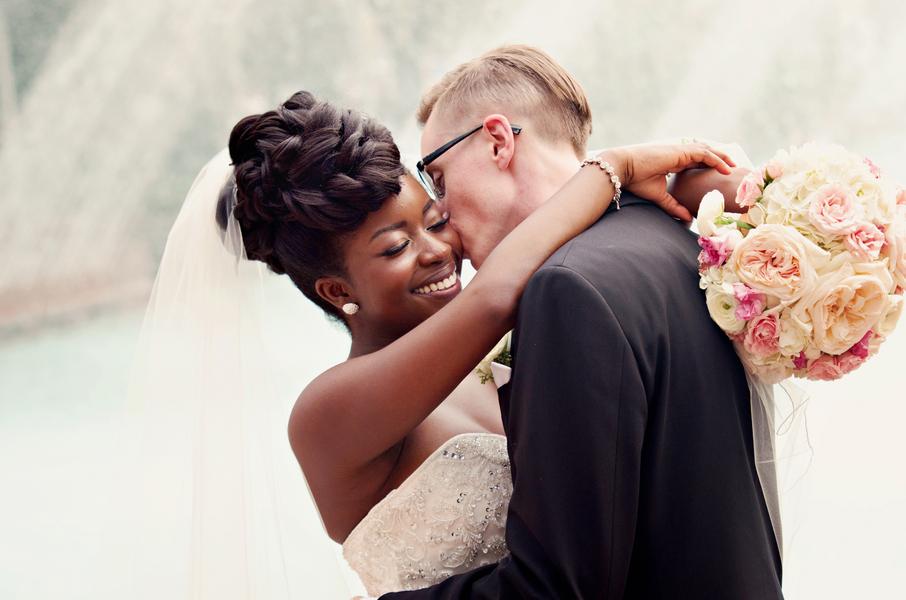 Interracial Wedding first dance