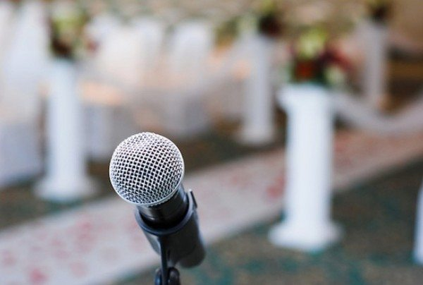 Wedding Microphone