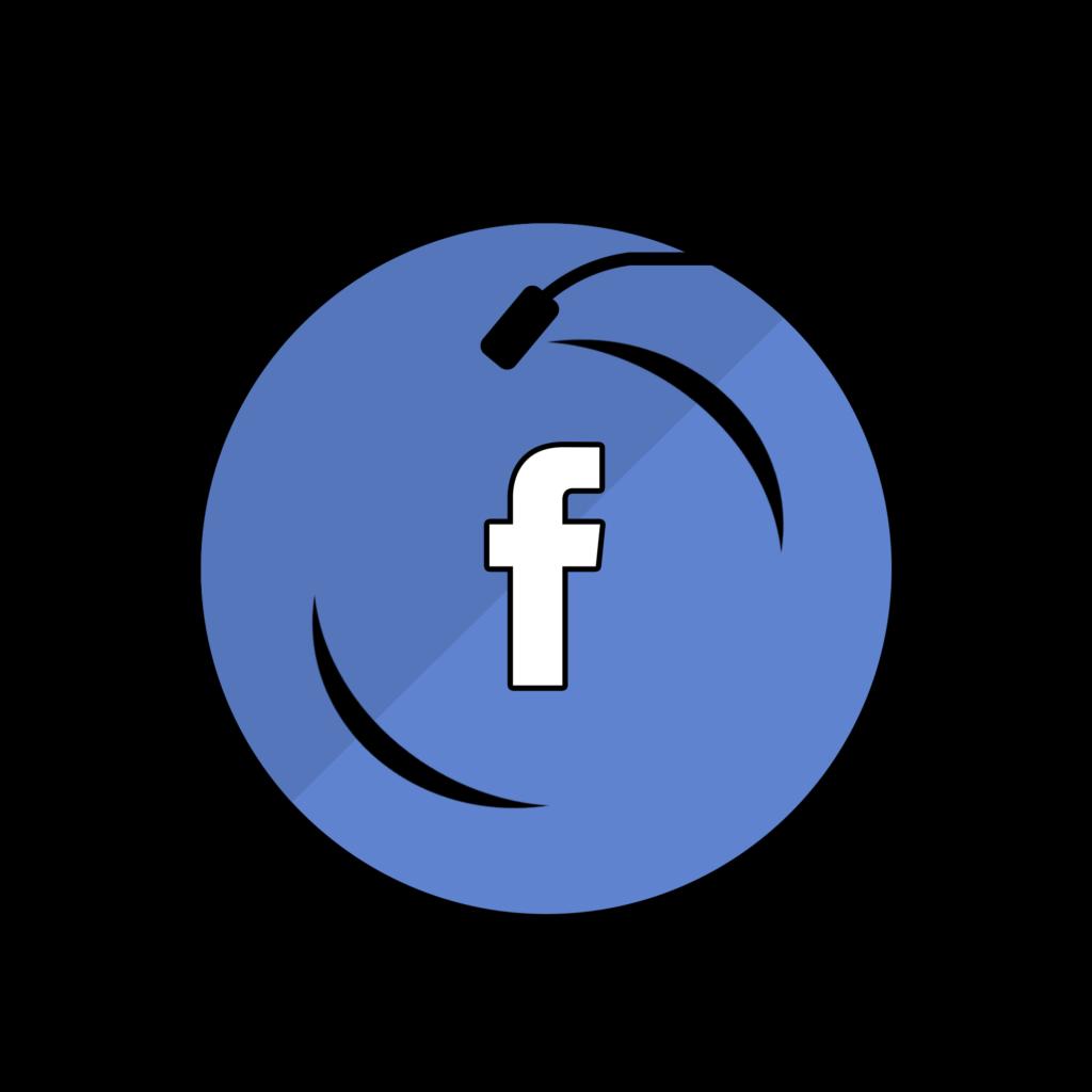 Facebook Vinyl logo