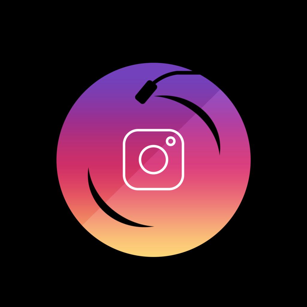 Instagram Vinyl logo