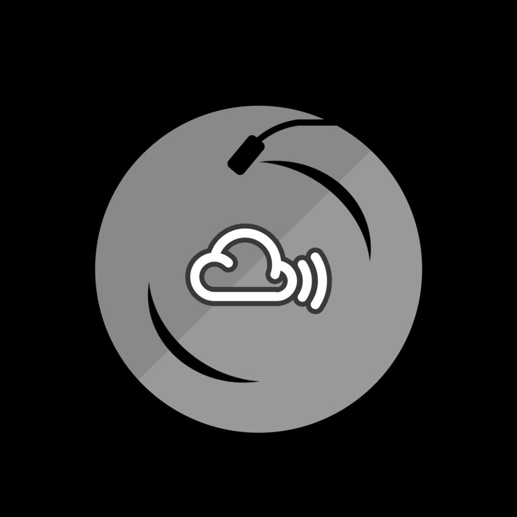 Mixcloud Vinyl logo