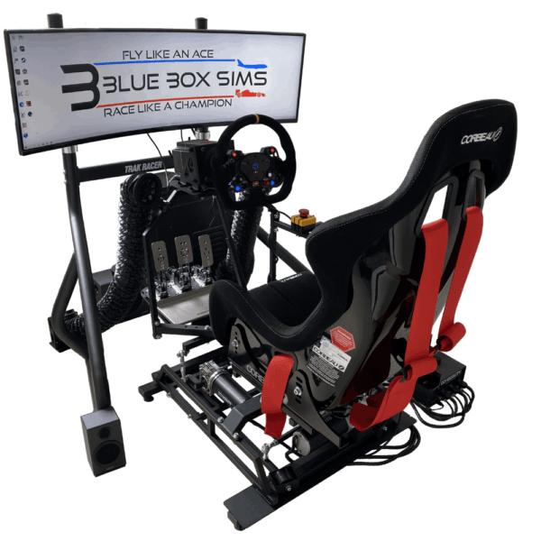 Blue Box SIMS Silver Racing Simulator