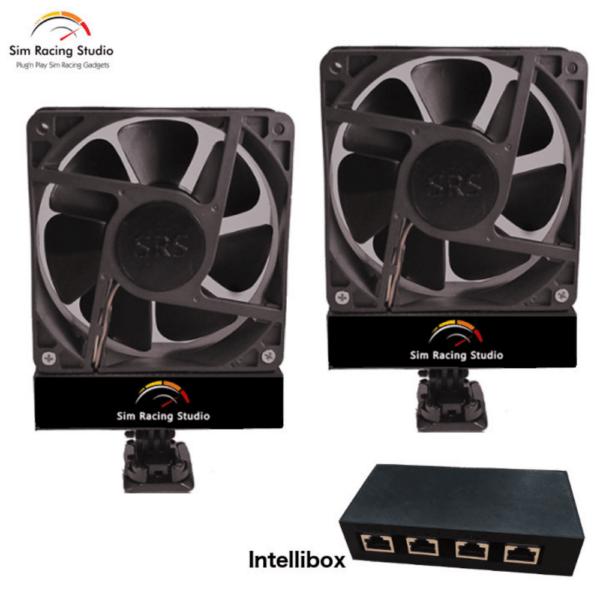 Sim Racing Studio Double The Fan With Intellibox Gen1