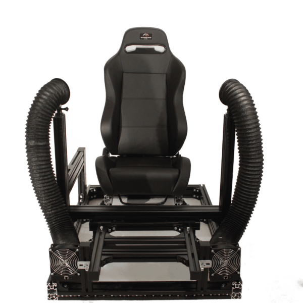 Sim Racing Studio Double The Fan Tube Edition On Rig Front