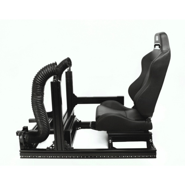 Sim Racing Studio Double The Fan Tube Edition On Rig Side