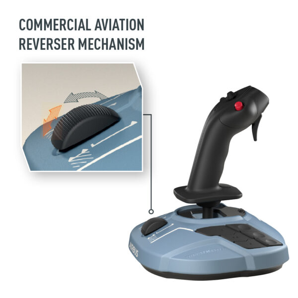 Thrustmaster TCA Sidestick Airbus Edition Commercial Reverser Mechanism