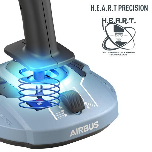 Thrustmaster TCA Sidestick Airbus Edition H.E.A.R.T. Precision