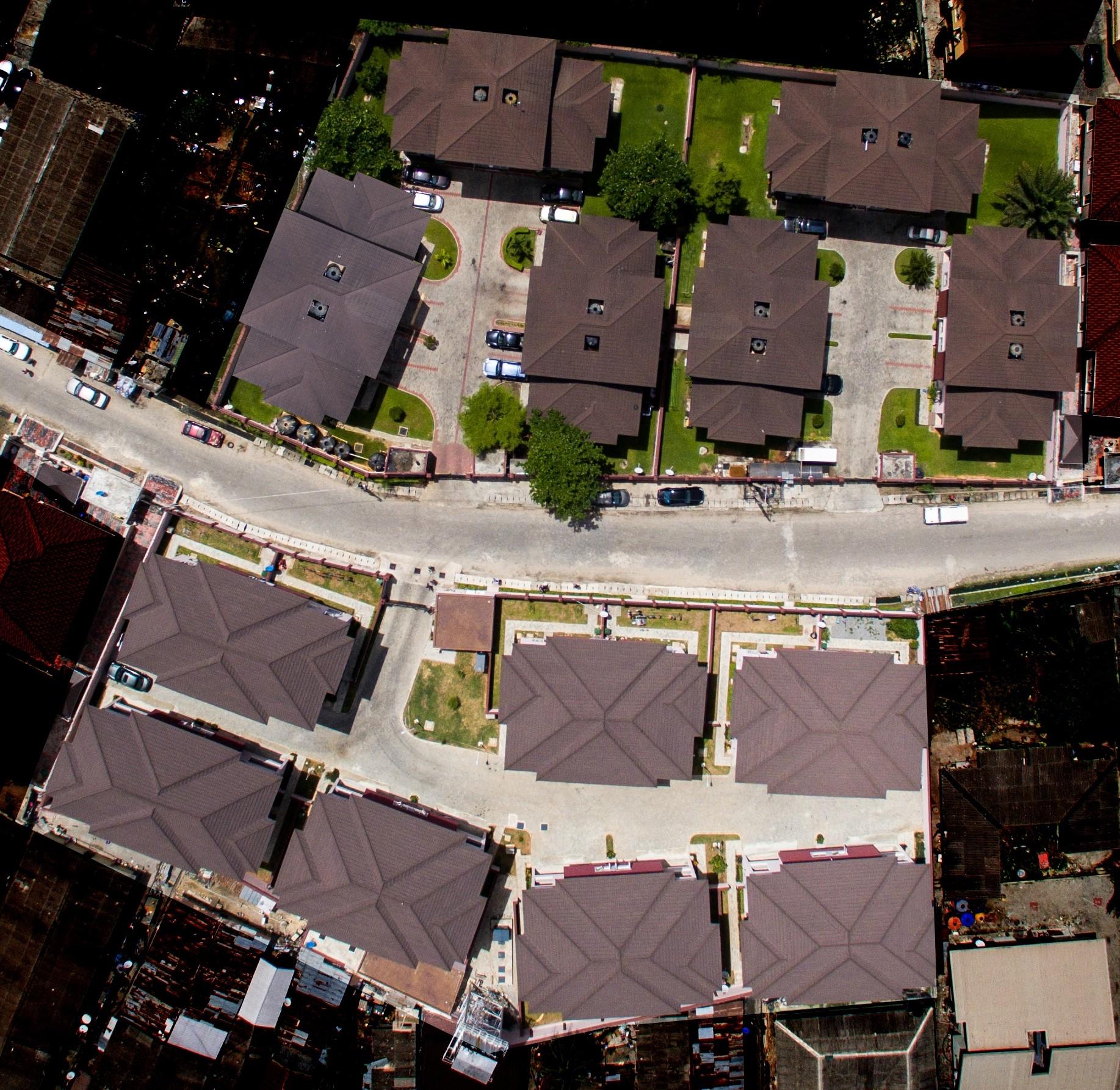 serene-courts1&2-estate-lagos-aerial-view