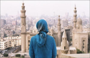 Contemplating the Cairo skyline