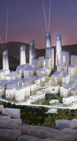 Lindemann Group - World Architecture News: Lindemann signs for 91 hectare development in Makkah