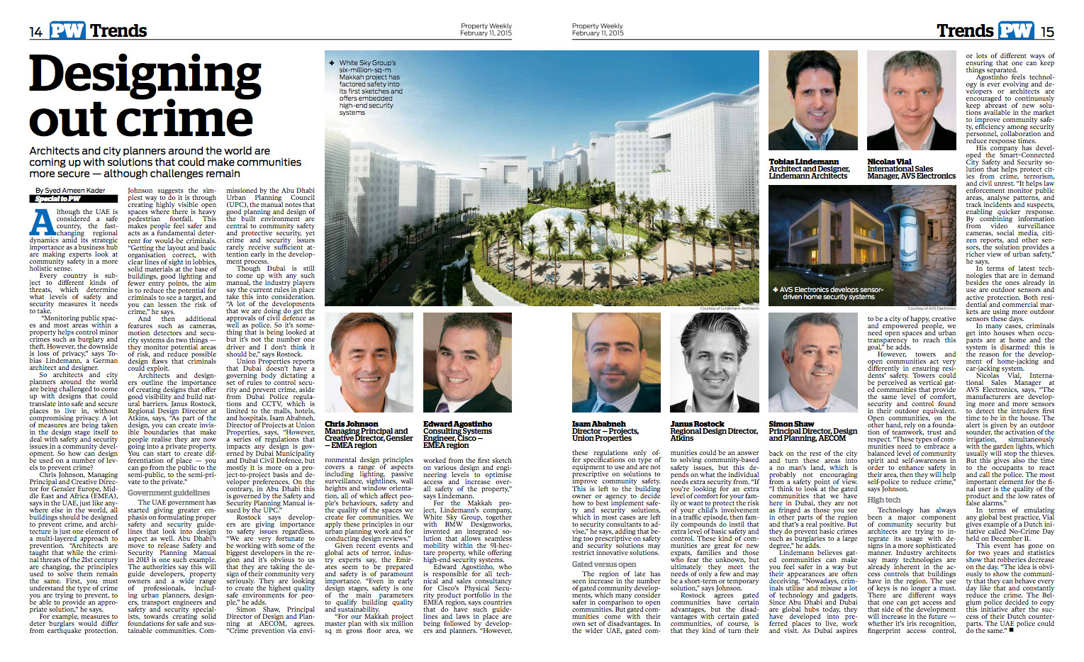 Lindemann Group - Property Weekly: Designing out crime - Lindemann's Makkah megaproject