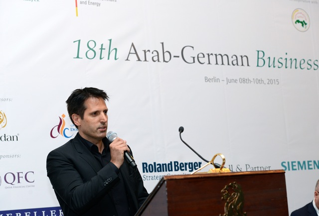Lindemann Group - Tobias Lindemann announcing Middle East Megaproject in Berlin