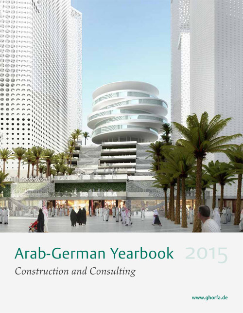 """Lindemann Group - Ghorfa Arab-German Yearbook """"Construction & Consulting"""" 2015"""