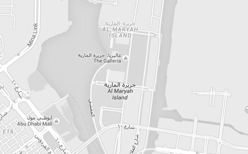Lindemann Group - Abu Dhabi Office Map