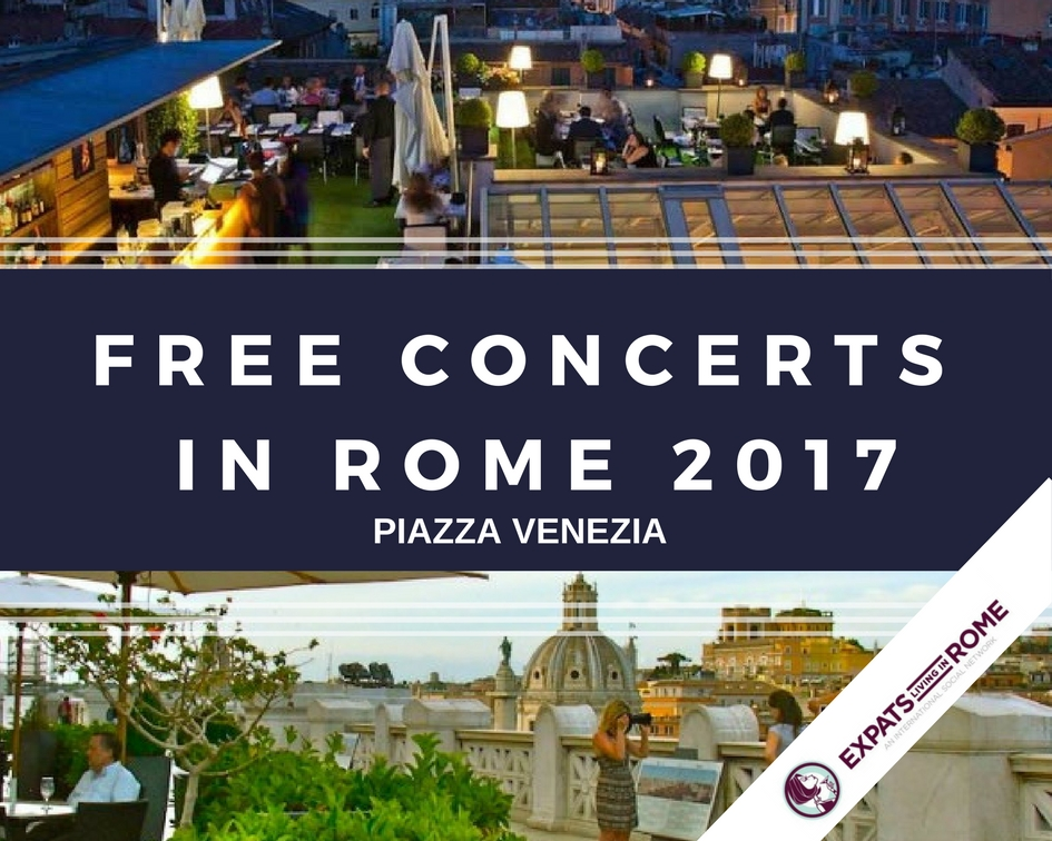 FREE CONCERTS IN ROME SUMMER 2017 6