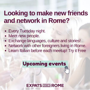 Learn Italian in Rome evening classes Free Italian lessons trastevere