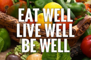 eat well and healthy