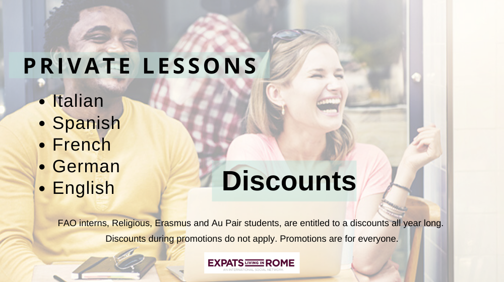 Private Italian, Spanish, French & English lessons 2