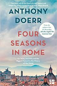 Four Seasons in Rome Anthony Doerr Best expat memoirs of Italy