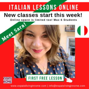 Learn Italian online and in person in Rome