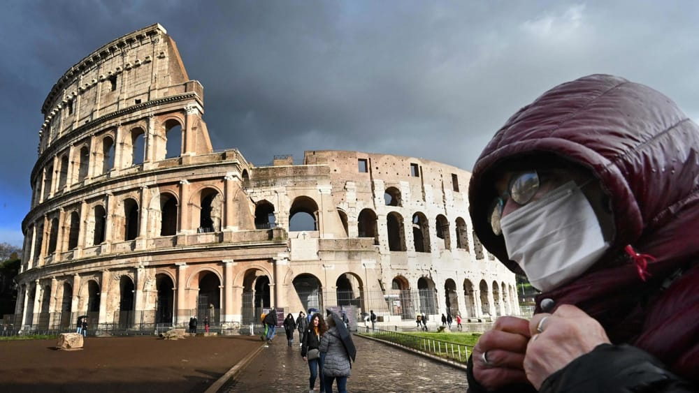 Warning Coronavirus is circulating in Rome! 1