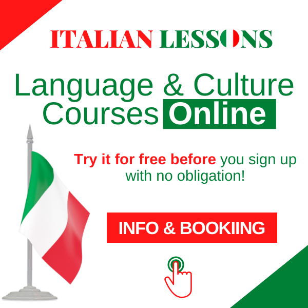 600 online lessons Italian spanish French English German free italian lessons online