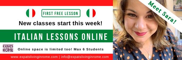Italian lessons online