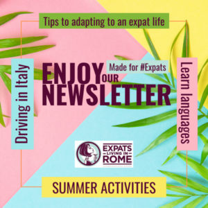 Expats living in Rome newsletter