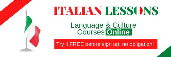 600x200 online lessons Italian spanish French English German