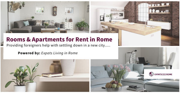 Studio apartment for rent in Rome near Metro C 3