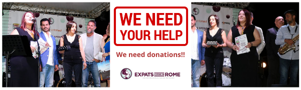 600x180 Fundme in Rome Italy help communities on facebook