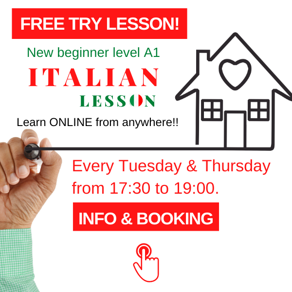 website blog post free italian lesson sunday online lessons Italianonline