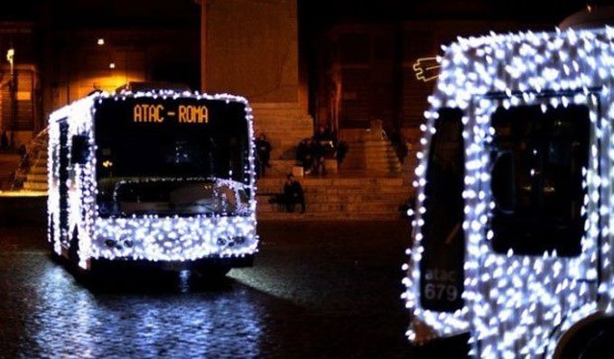 Bus and metro in Rome from Christmas Eve to New Year: all the info and timetables atac natale
