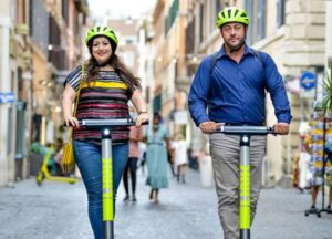 """Link"" electric scooters: 10€ discount for Rome expats! 1"