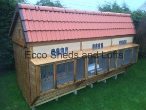 18ft x 8ft Deluxe Tiled Ultimate