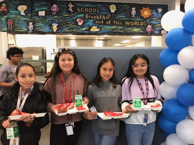 B4YM Helps Schools Celebrate National School Breakfast Week