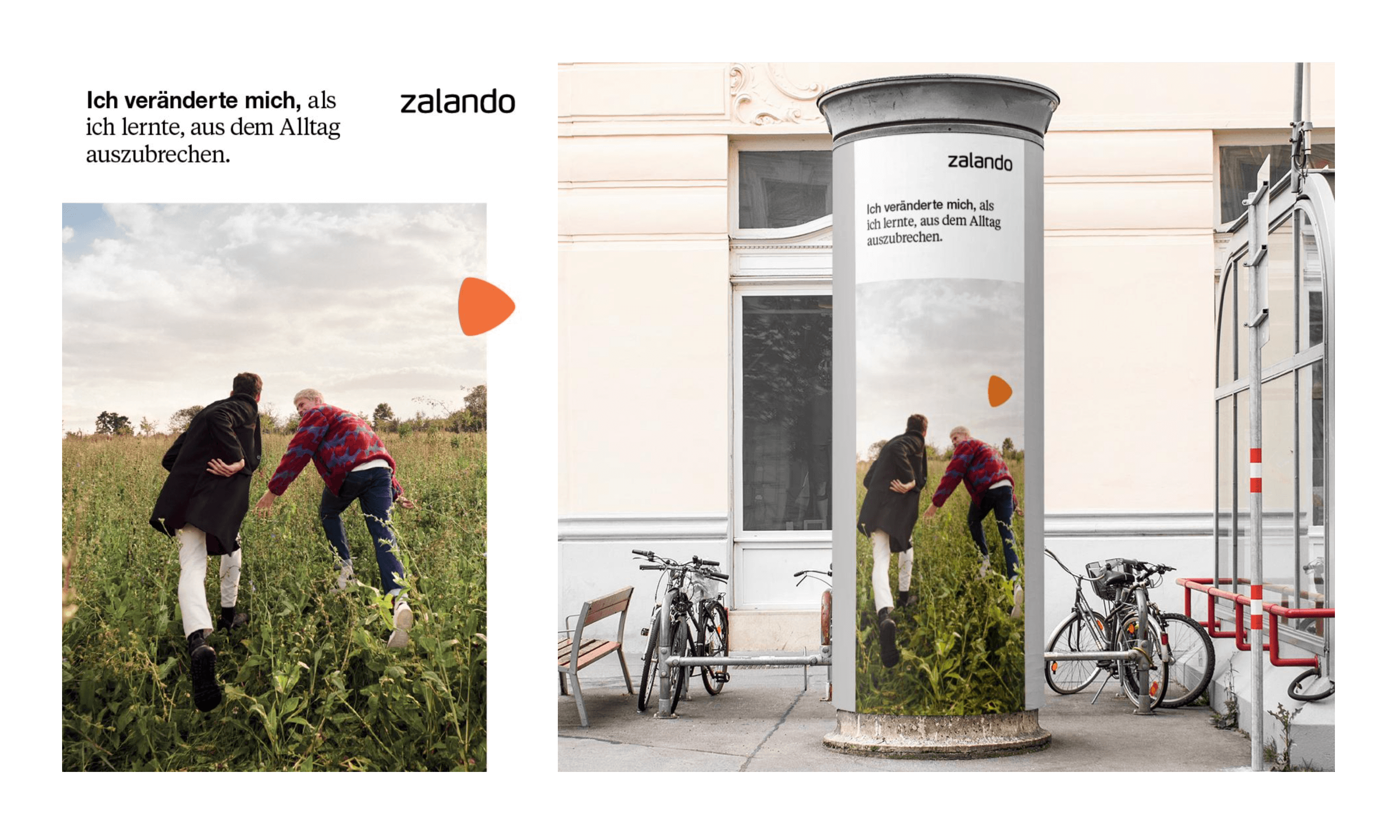 Application of the type pairing on OoH. Design by Zalando's MS&C team