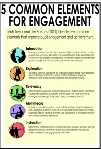 5 elements for student engagement