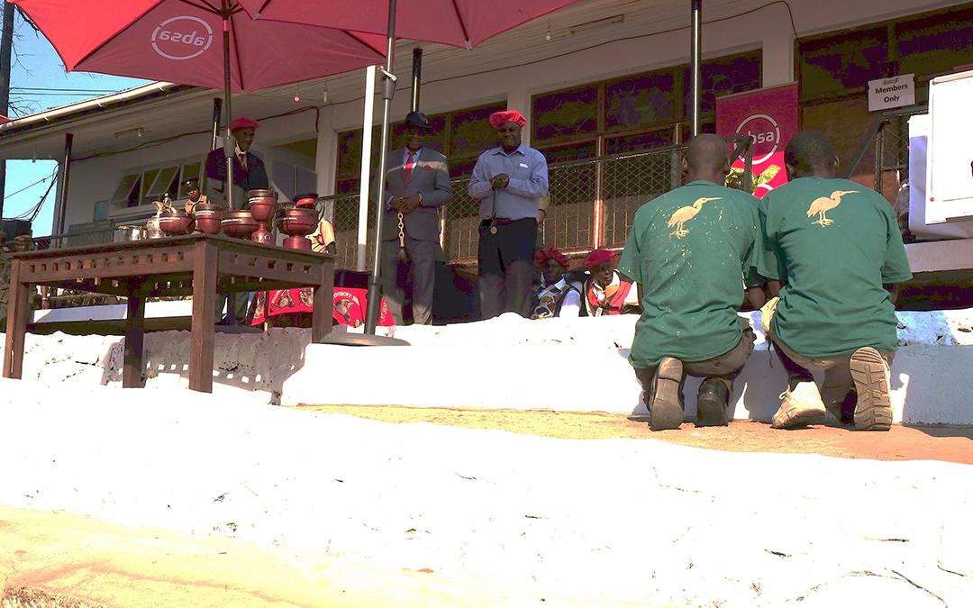 The Barotse Royal Establishment Visit to Livingstone