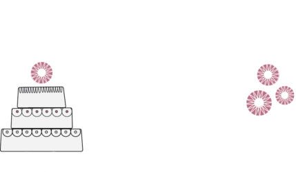 Candytuft cakes