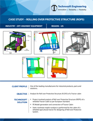 Rolling Over Protective Structure (ROPS)