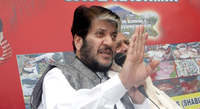 Don't provide India opportunity to harm our movement: Shabir Shah asks Pakistan
