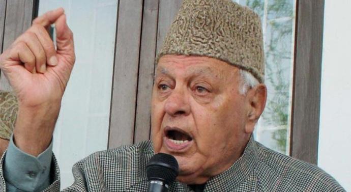 Azadi not possible in Kashmir, part of it belongs to Pakistan: Farooq Abdullah
