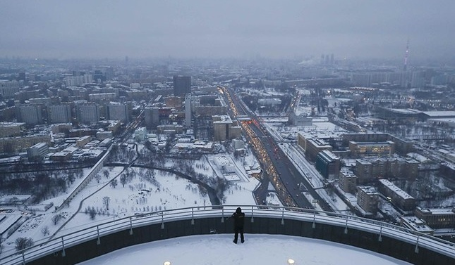 Darkest month on record: Moscow sees only six minutes of sun in December