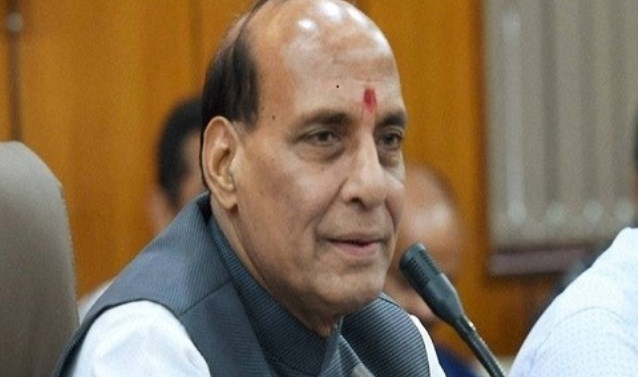 Need to review Article 370 in Jammu and Kashmir: Rajnath