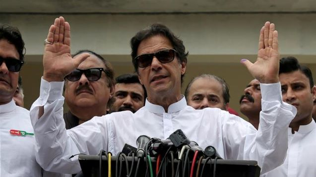 'No point talking': PM Khan rules out Kashmir talks with India