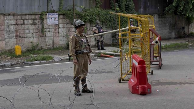 FRESH RESTRICTIONS, SHUTDOWN HIT NORMAL LIFE IN KASHMIR