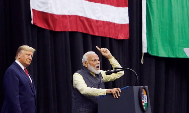 Howdy Modi: Indian PM appears with Trump at Texas rally